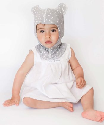 Anti-scratch hood for babys against eczema
