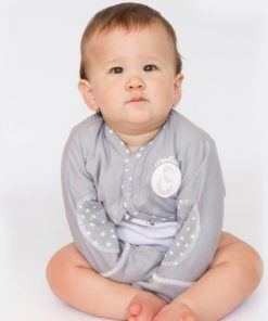 Photo Veste bebe anti-grattage Maluna-eczema assis